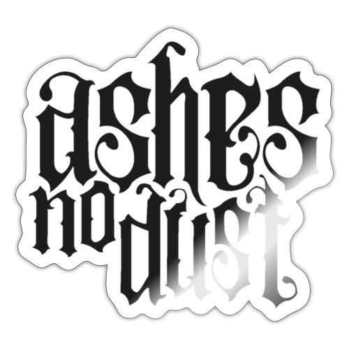 Black logo Ashes No Dust - Autocollant