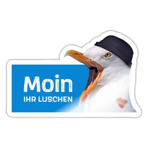 Moin ihr Luschen! - Sticker