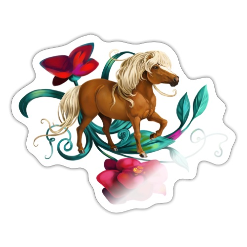 Kamelien Pony - Sticker