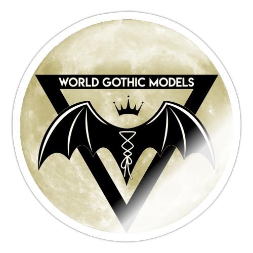 Single WGM Logo Moon Design - Sticker