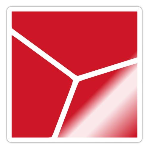 Logo in Rot - Sticker