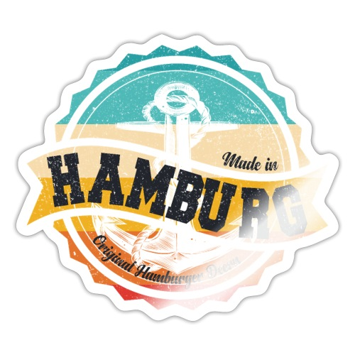 Made in Hamburg - Original Hamburger Deern - Sticker