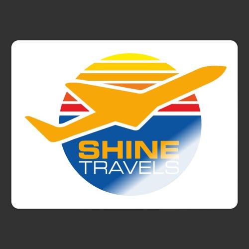 Shine Travels - Klistermärke