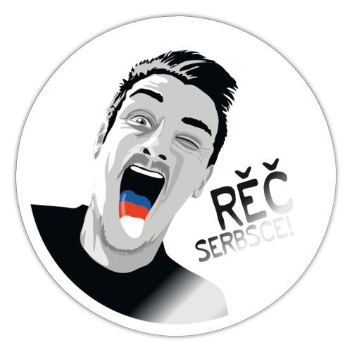 RĚČ SERBSCE! - Sticker