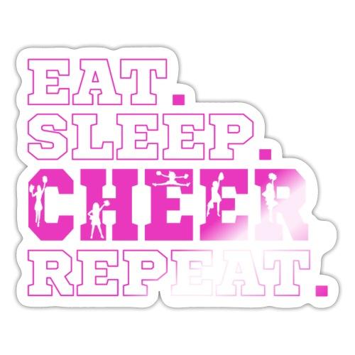 Cheerleading Sport Outfit und Geschenkideen - Sticker