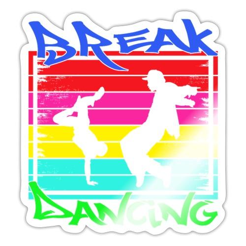 Breakdancing - Tanzsport Hip Hop Breakdance - Sticker