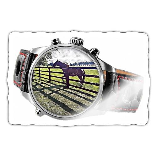 Horse in a watch - Sticker