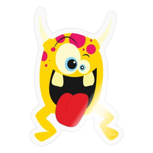Monster Yellow - Sticker