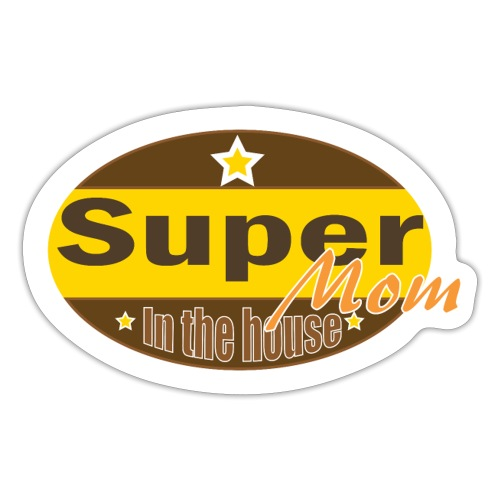 Super Mom - Sticker
