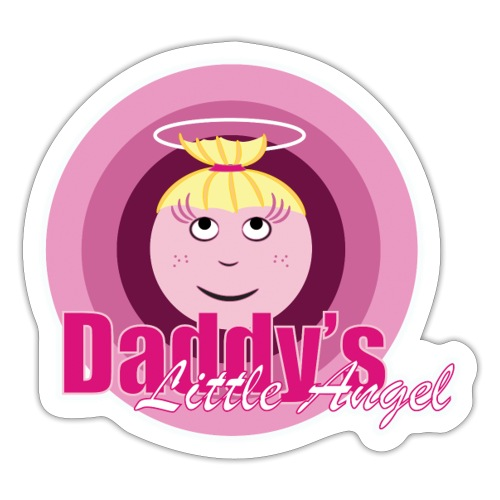 Daddy s Angel - Sticker