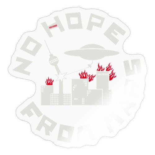 Berlin - No Hope From Mars - Sticker