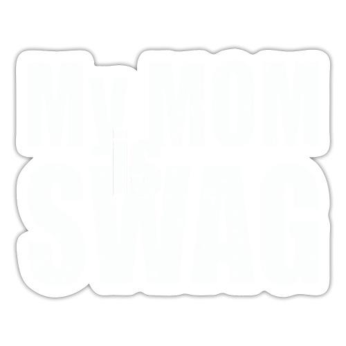 Swag White - Sticker