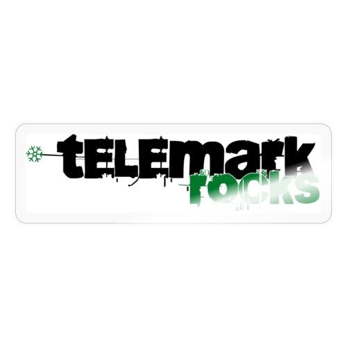 telemark rocks grün - Sticker