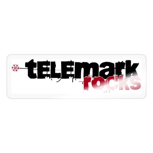 telemark rocks rot - Sticker