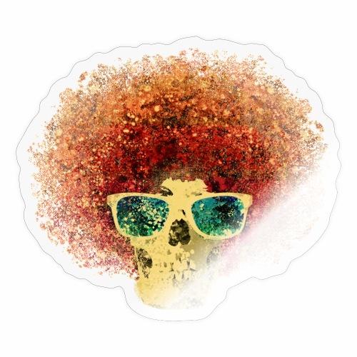 Freaky Skull Vintage - Sticker