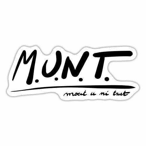 Munt - Sticker
