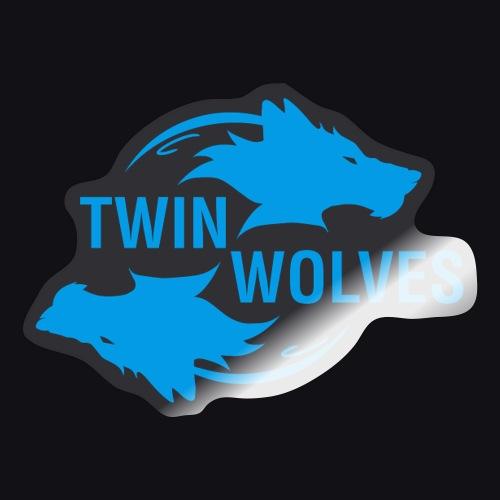 Twin Wolves Studio - Adesivo