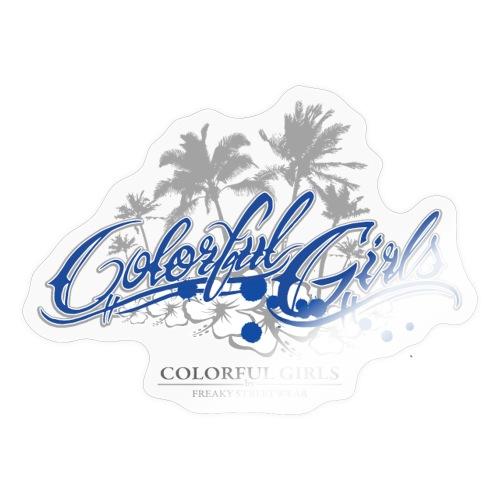 Colorful Girls Logo - Sticker