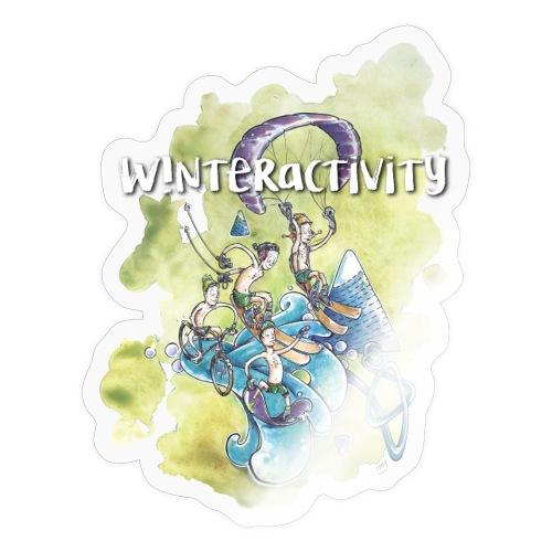 WINTERACTIVITY - Autocollant