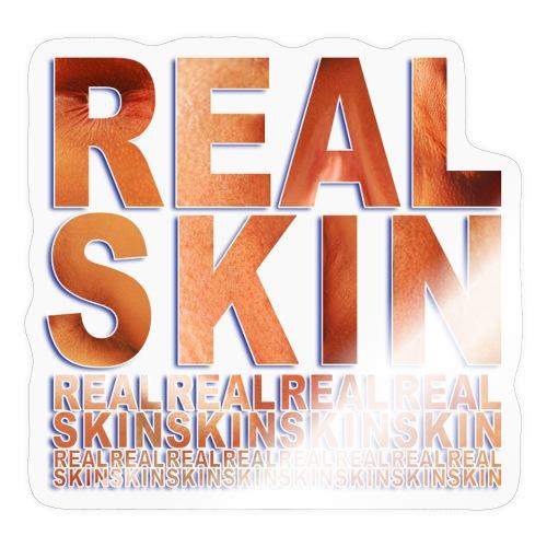 REAL SKIN - Hautnah - Sticker