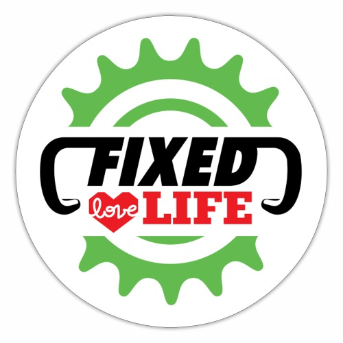 fixed love life - Adesivo