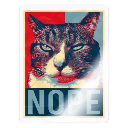 Böse Katze Nein Geschenk Maine Coon Perser Lustig - Sticker