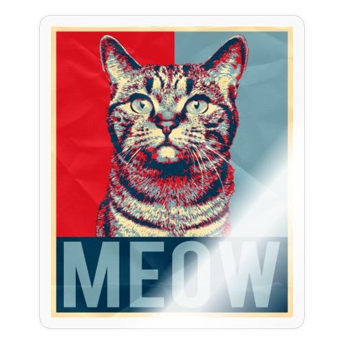 Katze Britisch Kurzhaar Lustig Geschenk Kunst - Sticker