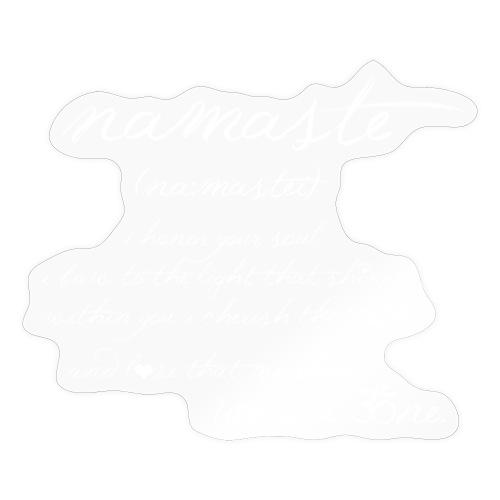 Yoga Namaste - Sticker