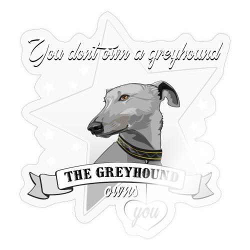 The Greyhound - Klistermärke