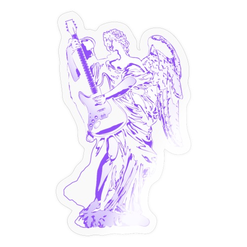 Engel 2018 paars - Sticker