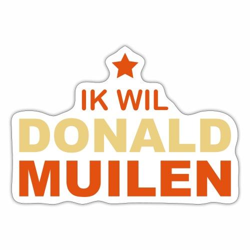 Ik Wil Donald Muilen - Sticker