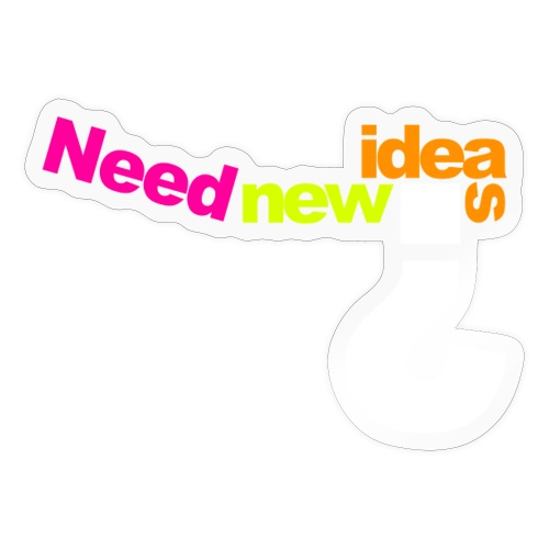 Neu Ideen - Sticker