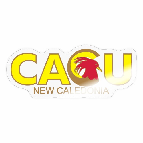 Cagu New Caldeonia - Autocollant
