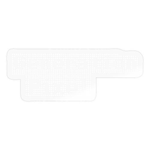 Generation Pixel weiss - Sticker