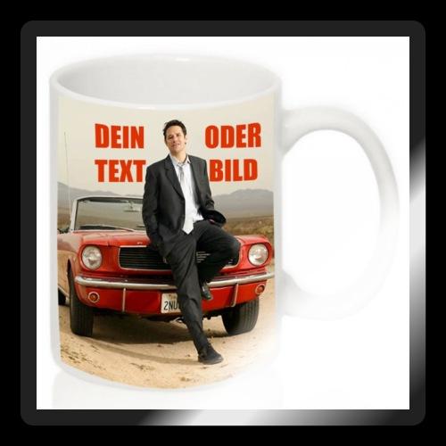 Tasse mit Ihrem persönlichen Bild - Sticker