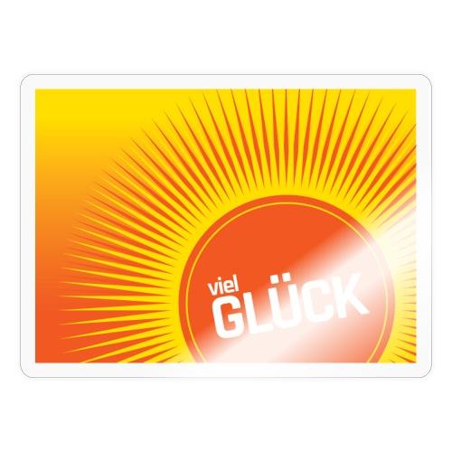 Viel Glück - Sticker