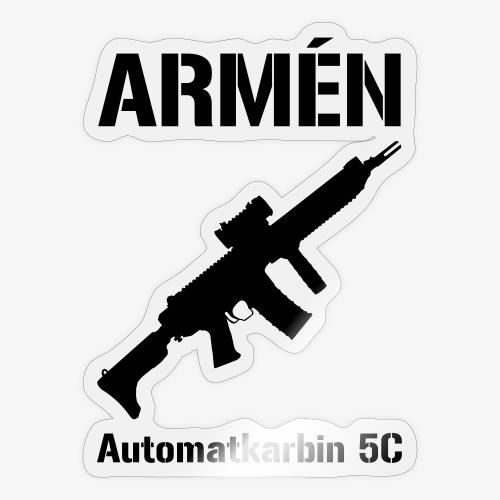 ARMÈN - Ak 5C - Klistermärke