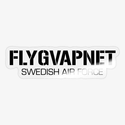 FLYGVAPNET - SWEDISH AIR FORCE - Klistermärke
