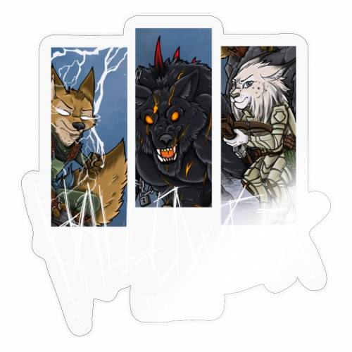 The Hallow Trio - Sticker