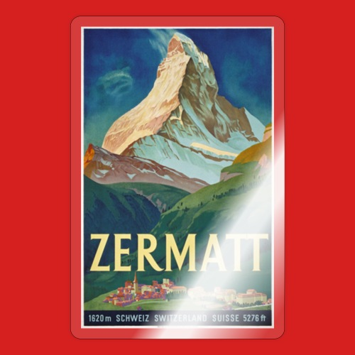 Zermatt - Sticker
