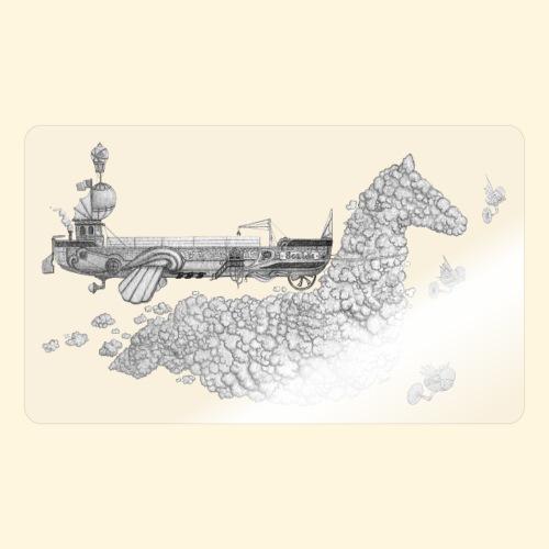 Péniche Steampunk Scaldis - Autocollant