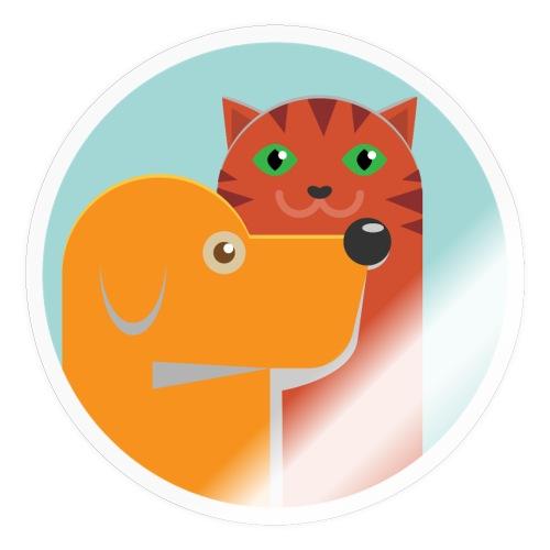 Tierfreund - Sticker