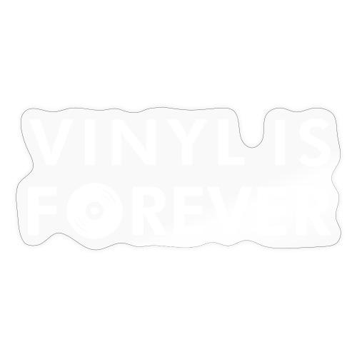 Vinyl is forever - Adesivo