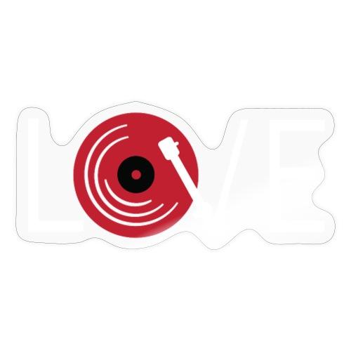 Love vynil - Adesivo