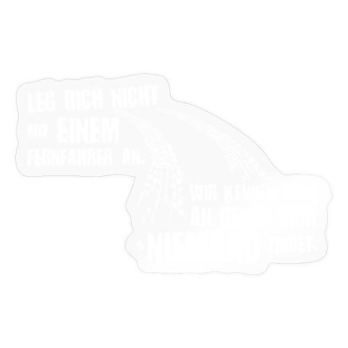 Trucker, was sonst I Dieselholics I LKW Fahrer - Sticker