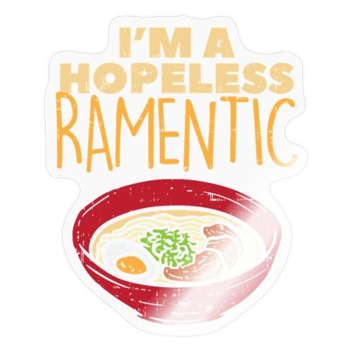 Ich bin hoffnungslos Ramentisch - Sticker