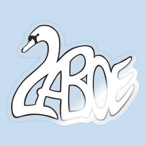Laboe Schwan weiss - Sticker