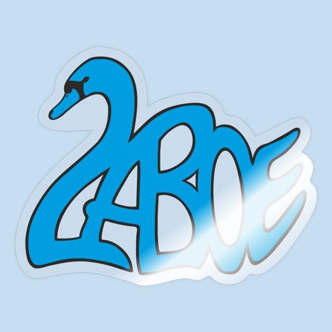 Laboe Schwan blau