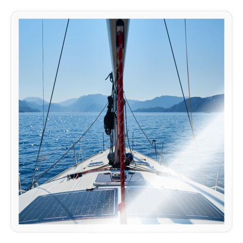Sailing Printdesign - Sticker