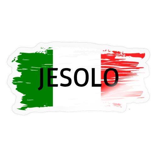 Jesolo auf Flagge - Sticker